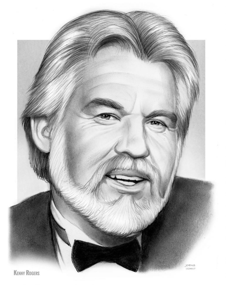Kenny Rogers by gregchapin