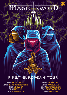 Magic Sword Tour Poster