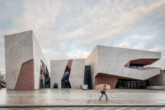 'A rock' – concert hall in Torun by Fernando Menis