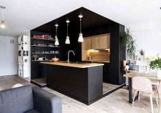 The Most Creative Kitchen Designs in Black