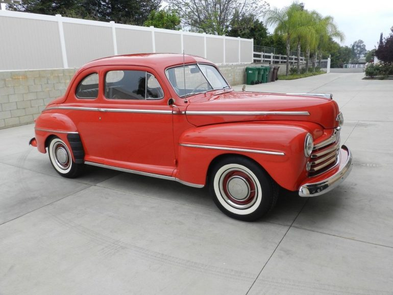 1948 Ford Super Deluxe Coupe –