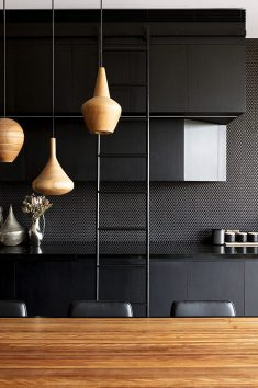 80 Black Kitchen Designs