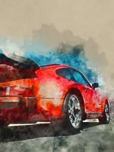 (via WaterColor Cars by Gab Fernando | metal… –