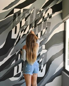 BEING BOLD – MURAL DESIGN