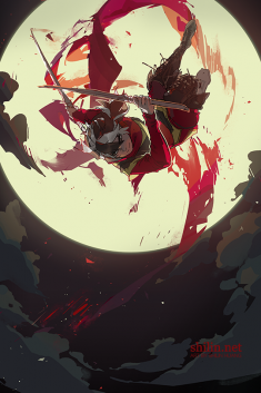 Blackbird – sketch for patreon by shilin