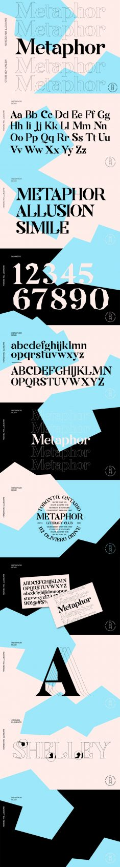 METAPHOR – FREE DISPLAY FONT