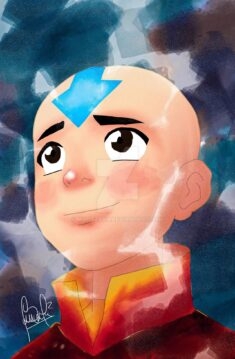 Avatar Aang by morazart