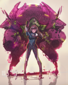 D.Va by 02ofclubs