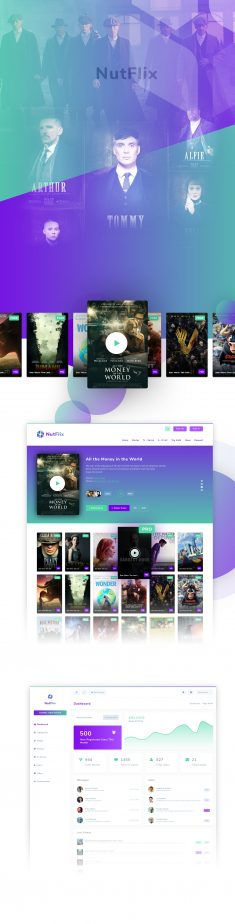 NutFlix – Tv Series – Movies CMS