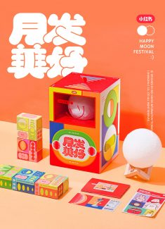 2019 RED Moon Festival Gift BoxDesign