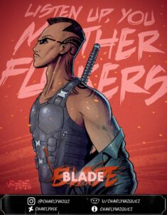 Blade Fanmade Poster by CharlyVee