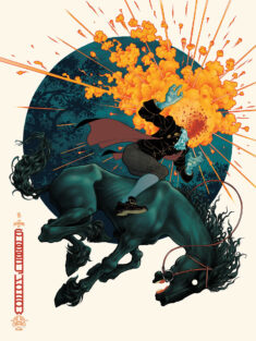 'The Legend Of Sleepy Hollow' Sunset Variant Black Dragon Press