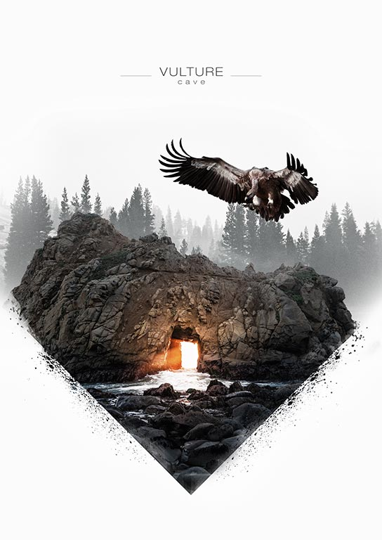 Poster-Vulture-Cave-A-009 by BrushNoir
