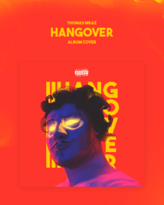 "Album cover ""Thomas Mraz – HANGOVER"""