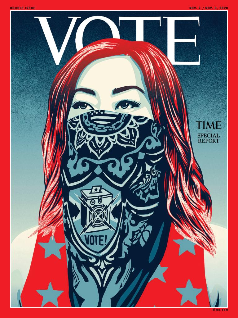 TIME's new cover: Vote.