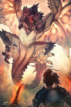 Rathalos by jeffsar