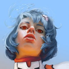 Rei Ayanami by The-French-Guy