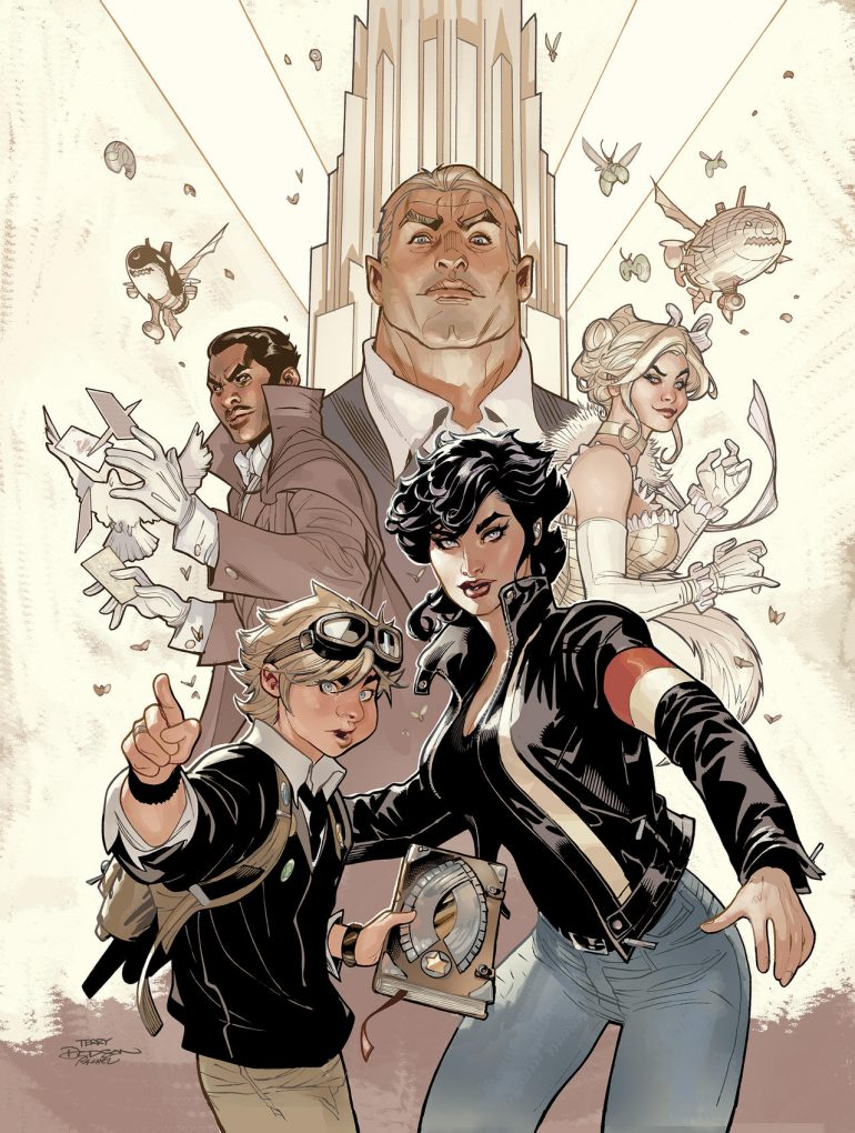 ADVENTUREMAN Vol 1:The End Everything After Cover by TerryDodson