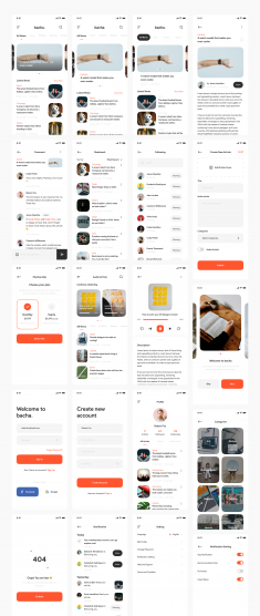 Bacha – News App UI Kit