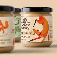 FOREST STORY/ Peanut butter