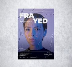 Frayed – Fashion Poster design