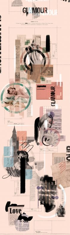GLAMOUR – Collage Serie