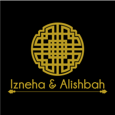 Izneha & Alishbah Clothing Logo design for practice
