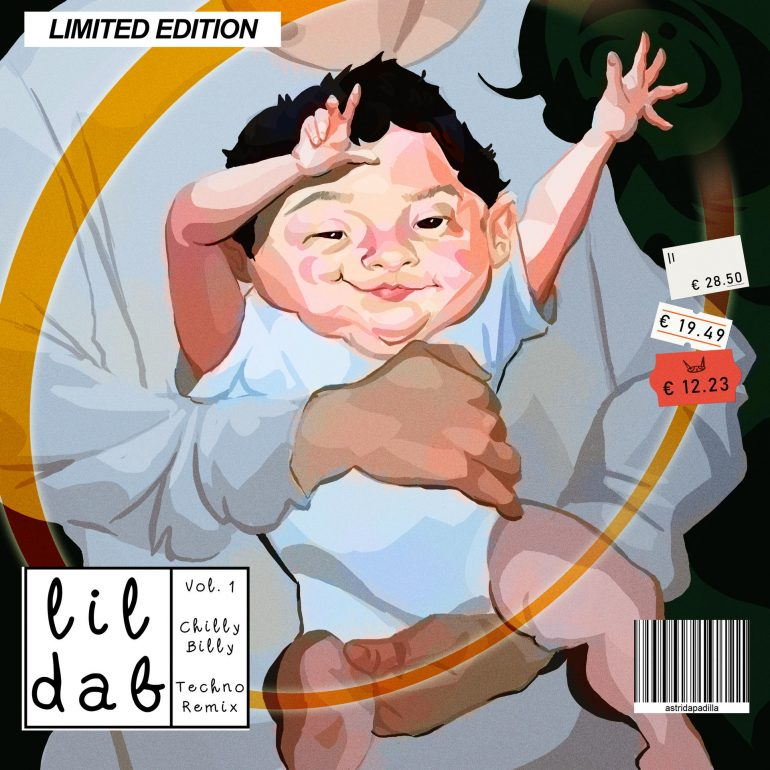 Lil Dab (Album Cover) by K-A-T-art