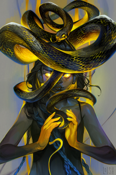 serpent by loish