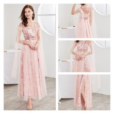 Pink Prom Dresses in Organza