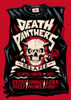 Death Panthers: Relapse Poster