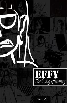 Effy – The living efficiency anthology cover design