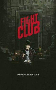 FIGHT CLUB poster by YURISHWEDOFF