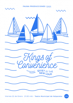 Gig Poster: Kings Of Convenience (2016)