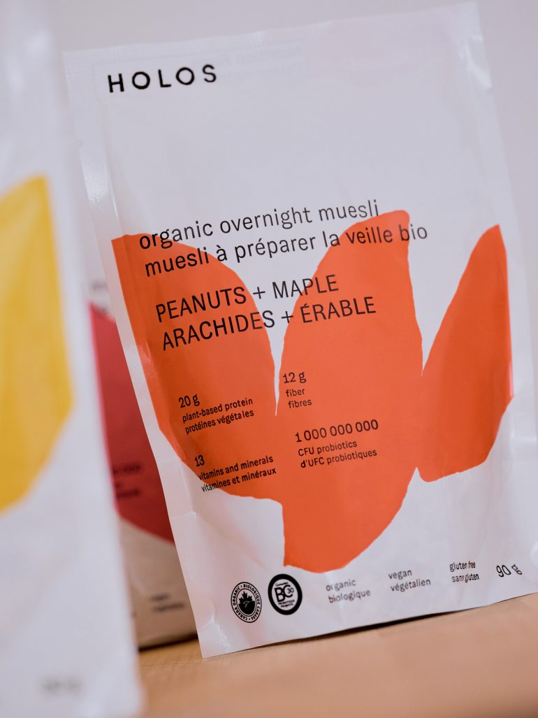 Holos Brand Identity & Packaging Design
