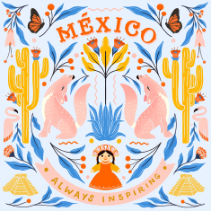 Illustration for Good Morning Mexico