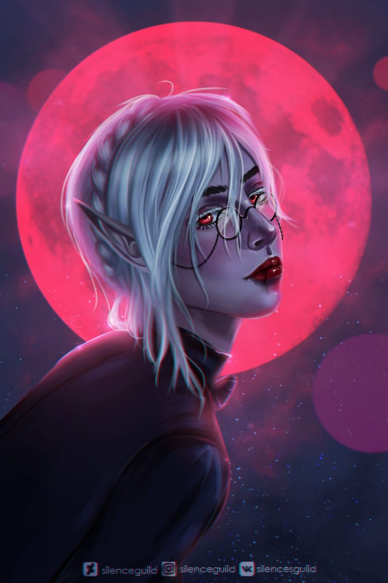 Red Moon by SilenceGuild