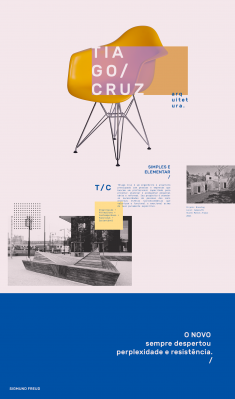 Tiago Cruz Arch. | Visual identity