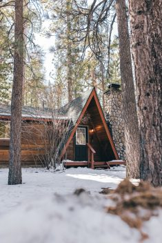 Cabin in Big Bear, California.
