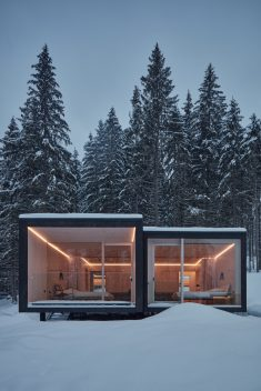 Shelters for Hotel Bjornson / Ark-shelter