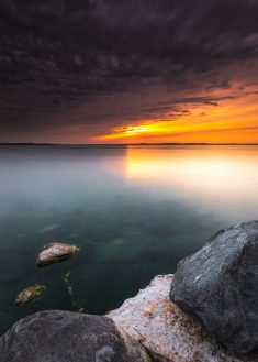 Madison, WI, USA – Smooth Below the Clouds