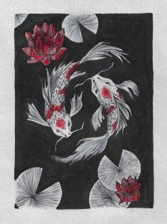 Koi fish. by ratatoosks