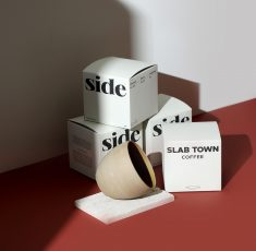 side X SLAB TOWN COFFEE DESIGN & PACKAGING