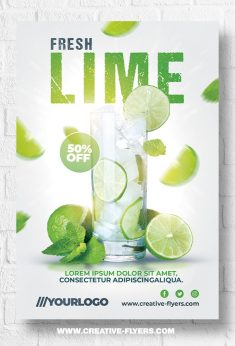 Summer flyer templates – Photoshop PSD