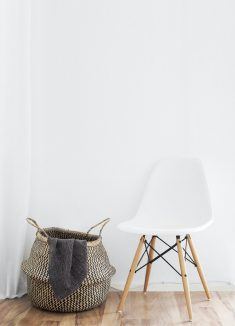 Minimalist Basket Chair