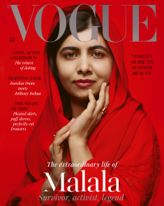 Malala Is British Vogue's July Cover Star