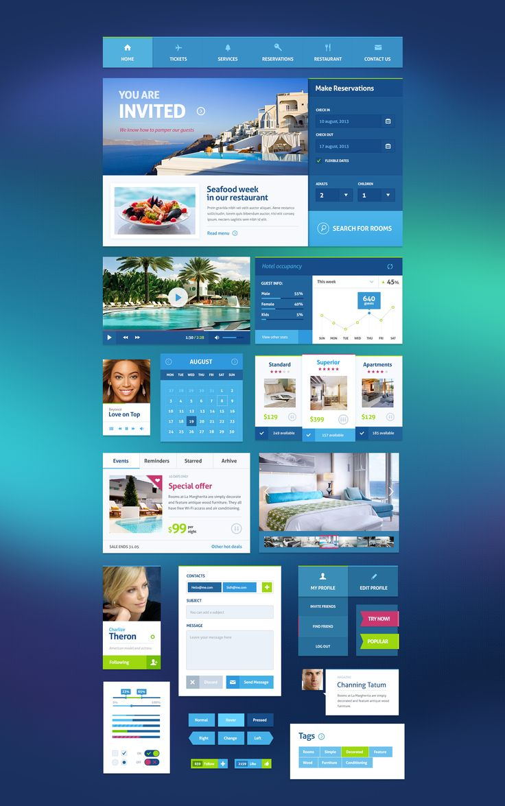 City Break – Hotel UI Kit