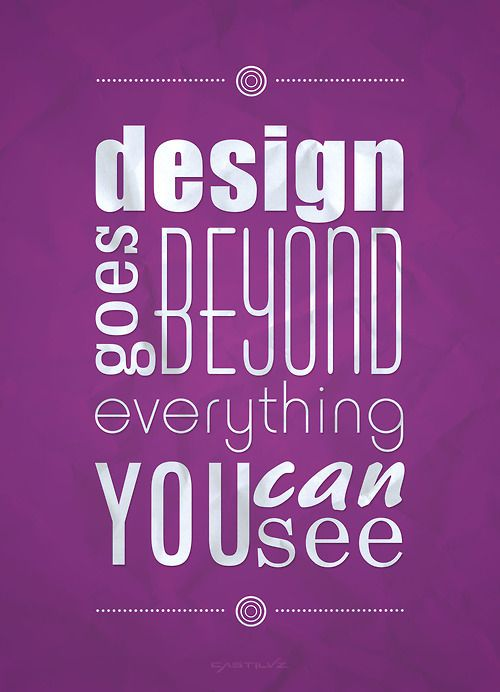 Design goes beyond | Typography
