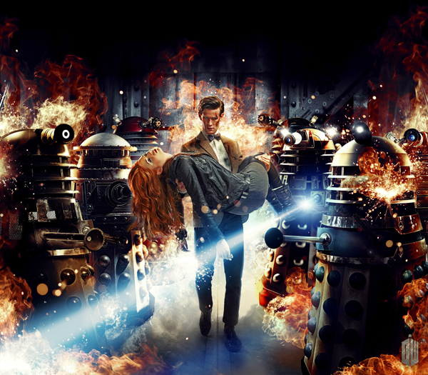 Doctor Who Series 7 Artwork