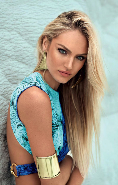 Fashion Candice Swanepoel  for Agua De Coco's Spring '13 Campaign